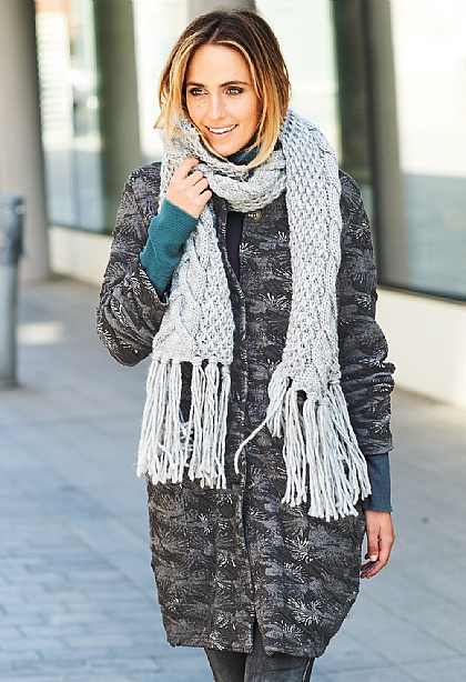Charlotte Knitted Scarf