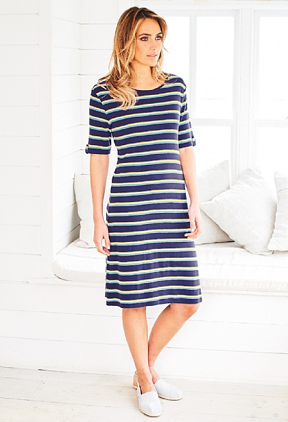 Maritime Stripe Dress